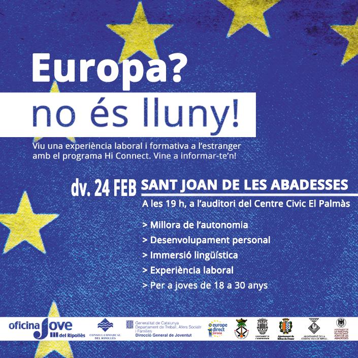 Europa no és lluny - Sant Joan de les Abadesses - 2
