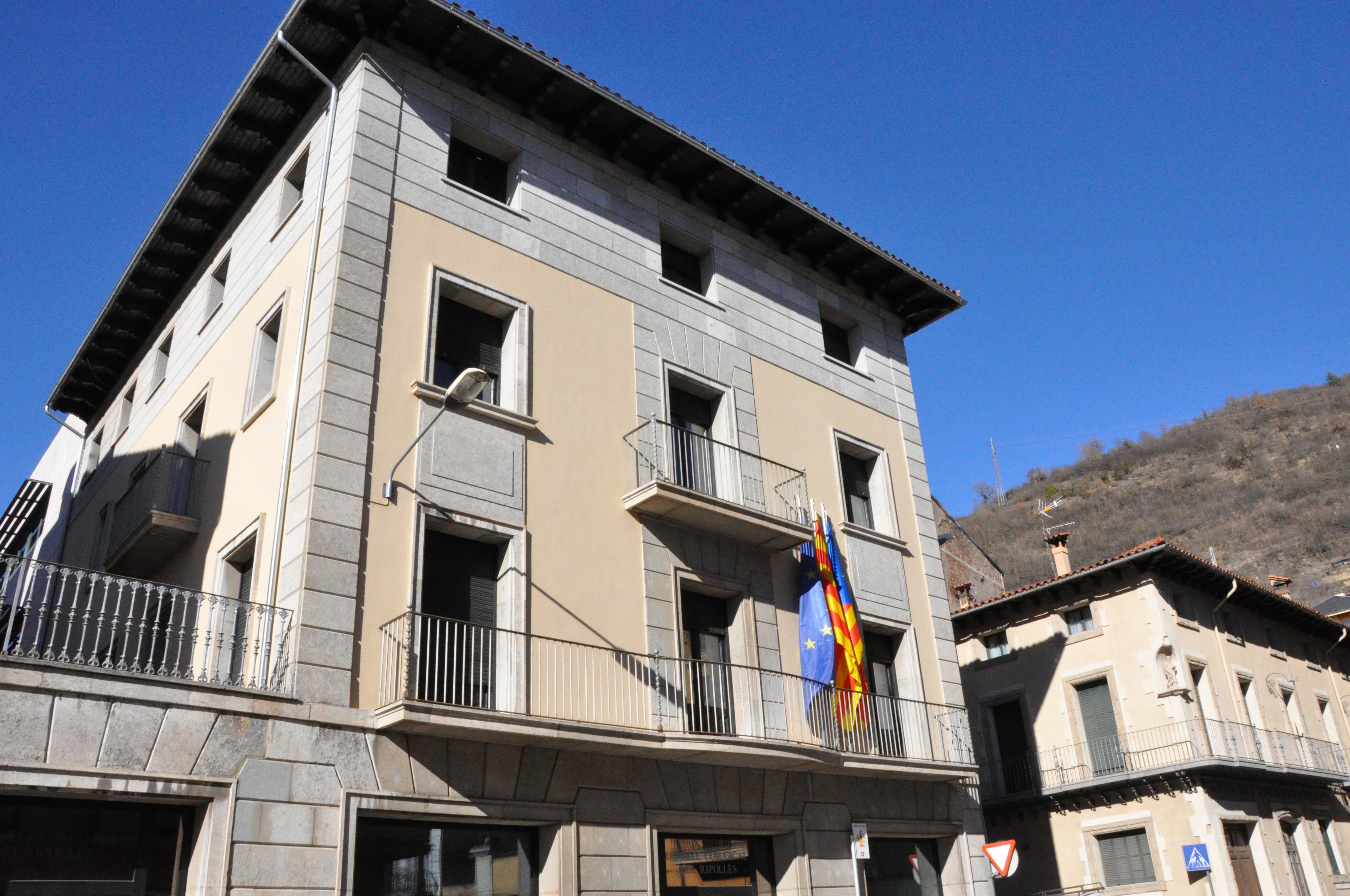 Façana Consell Comarcal del Ripollès