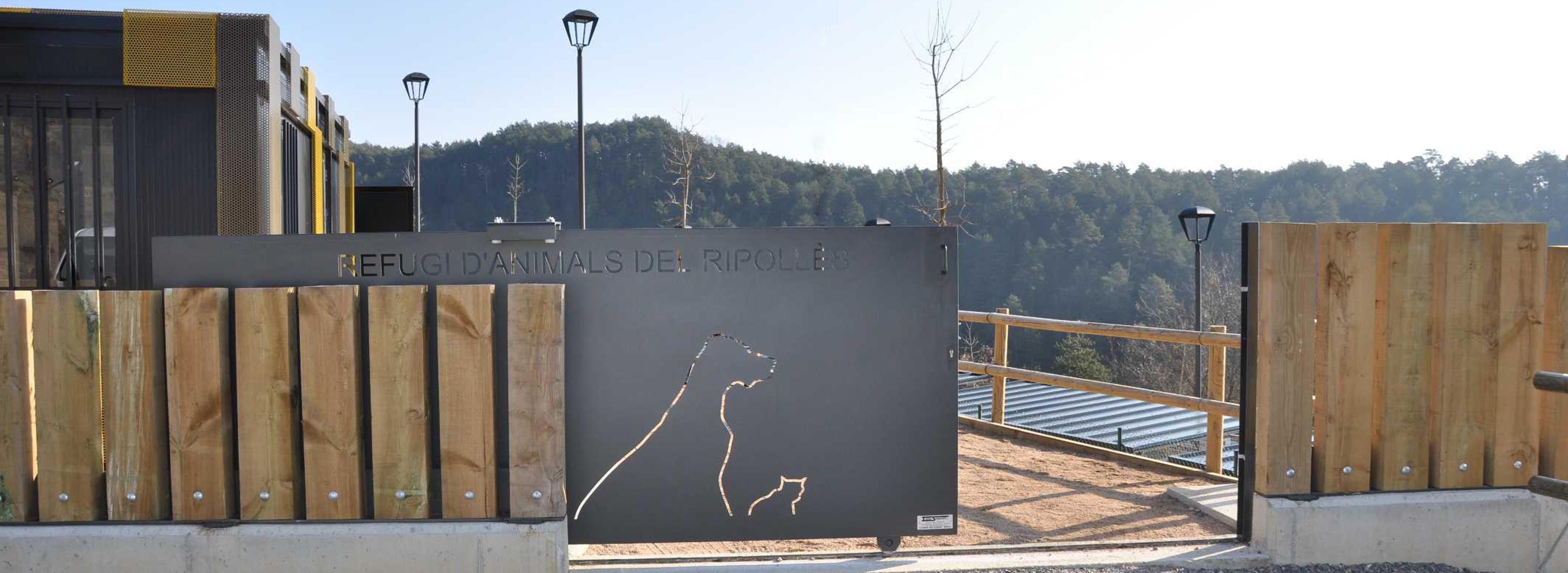 Refugi d'animals del Ripollès