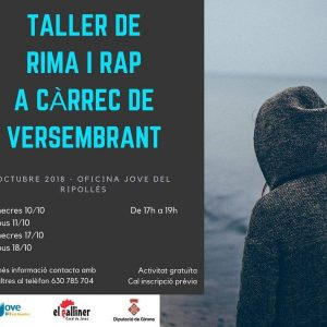 taller de rap 2018