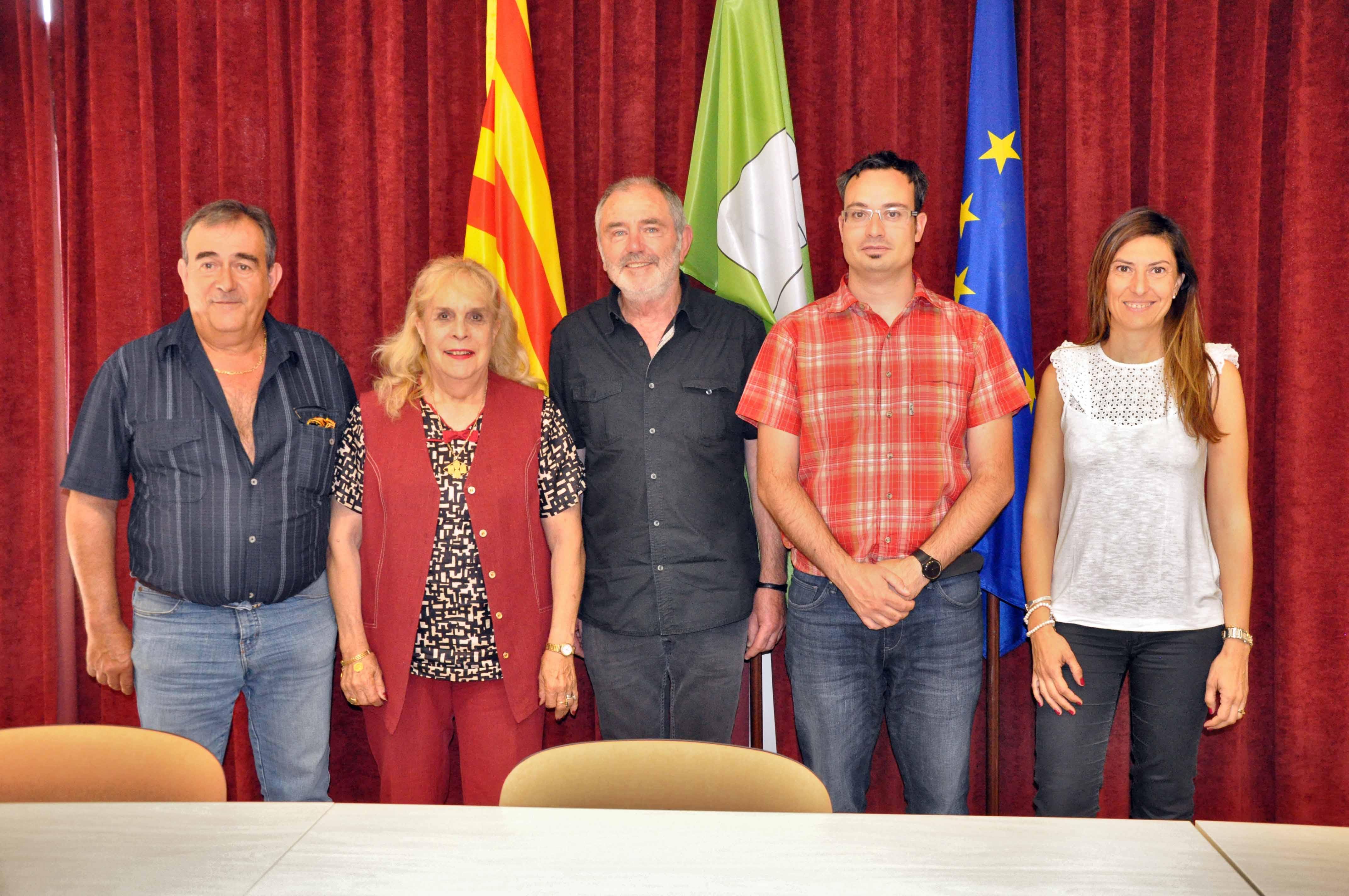 Comitè d'enllaç de l'agermanament Ripollès Conflent a Molló