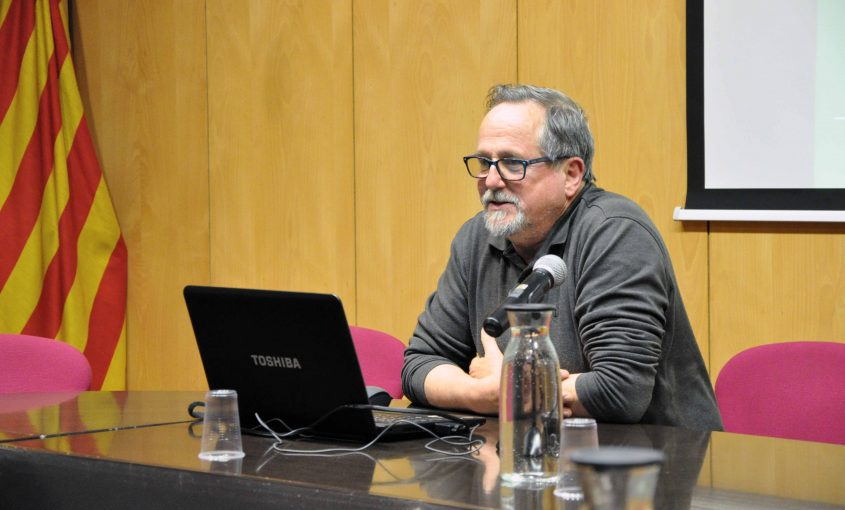 Enric Gràcia Consell d'alcaldes 13 març