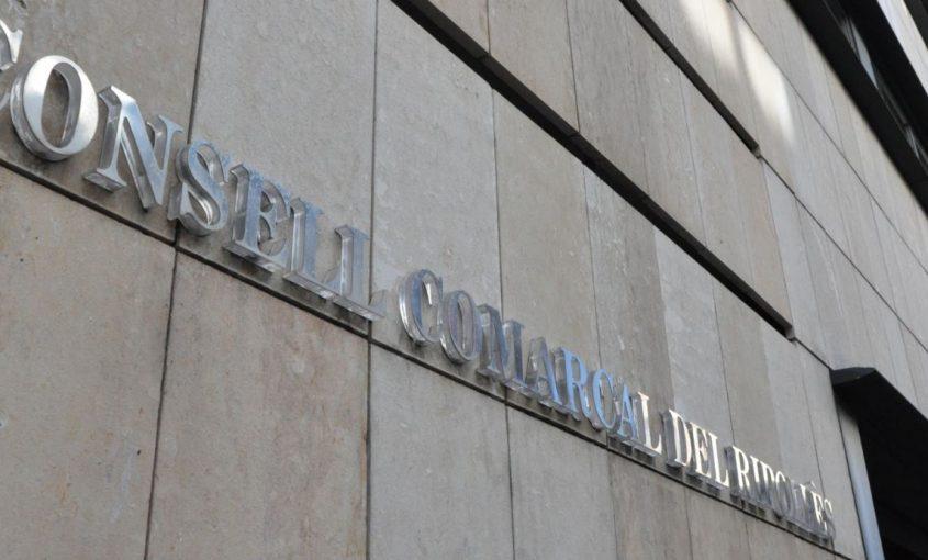 Façana Consell Comarcal del Ripollès.