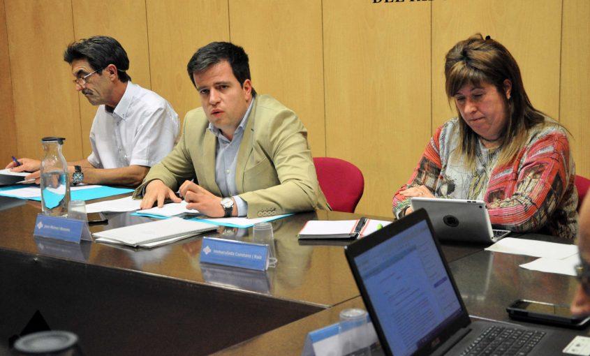 Joan Manso Imma Constans i Eudald Picas ple 15 maig 2018