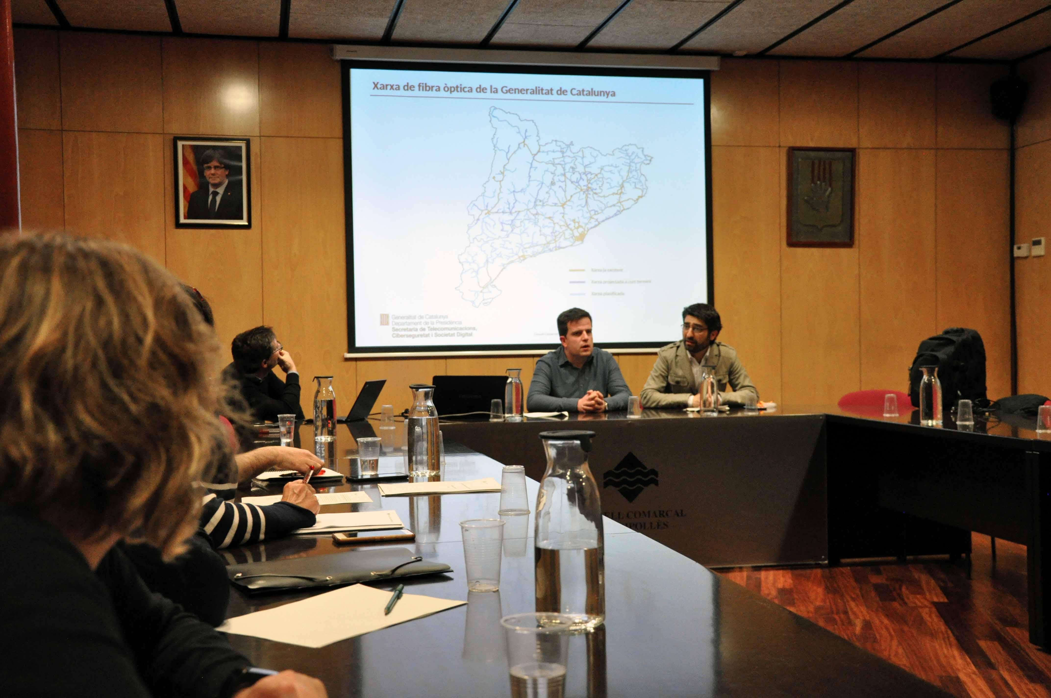 Jordi Puigneró Consell d'alcaldes maig 2018