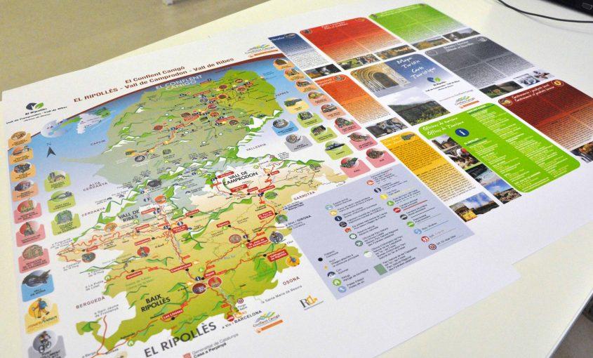 Mapa Ripollès Conflent
