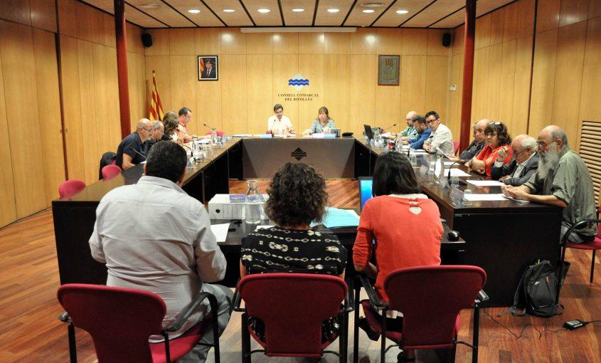 Ple consell comarcal del Ripollès 18 setembre 2018