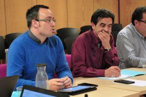 Consell d'alcaldes 08gen18 Josep Coma i Eudald Picas