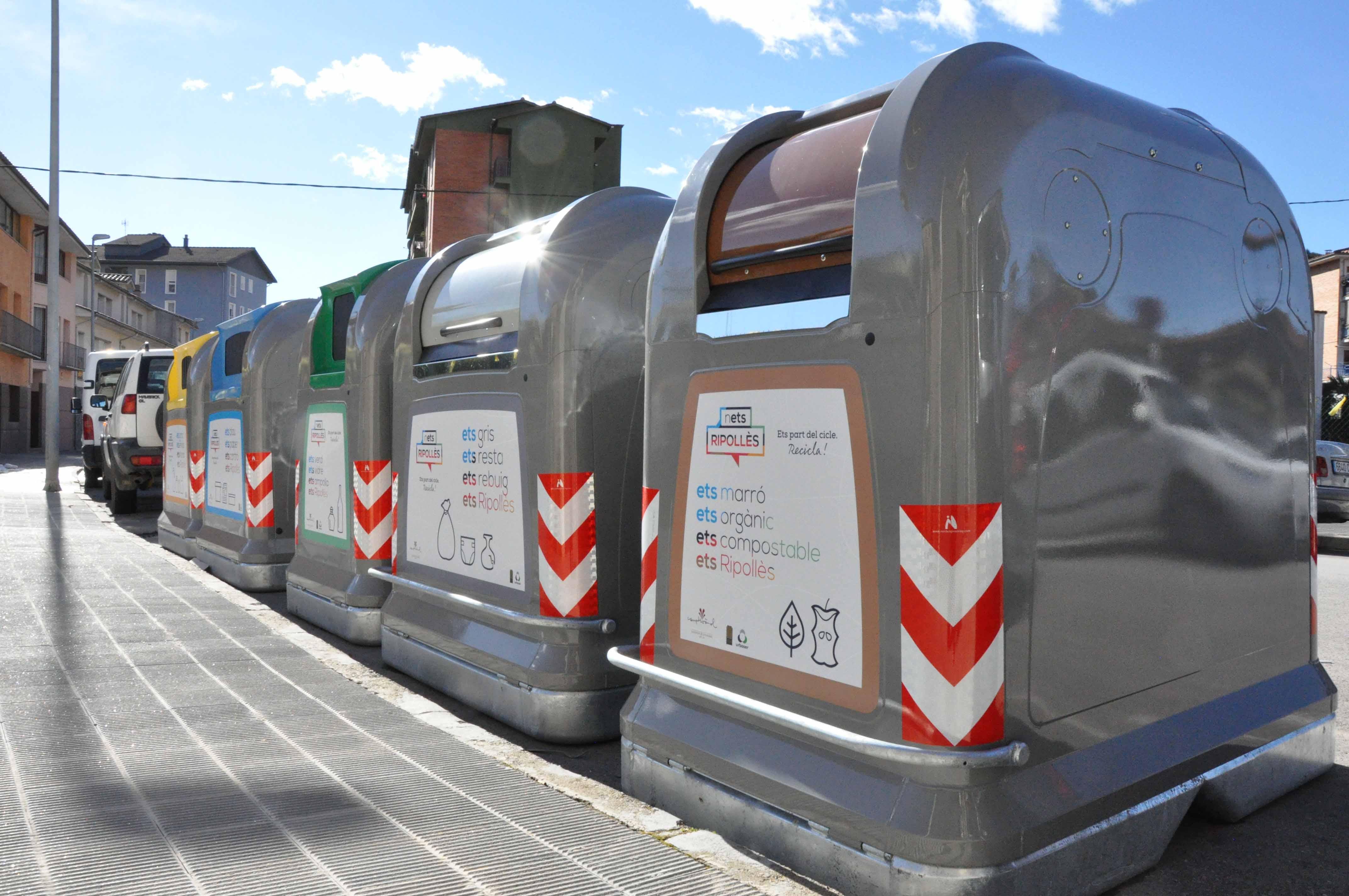 contenidors Campdevànol Ripollès