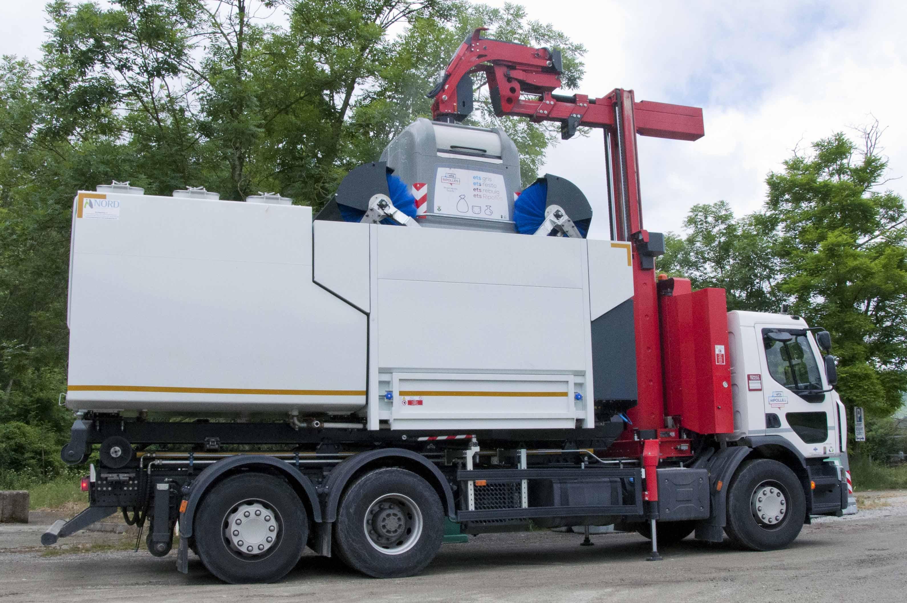 camió renta contenidors ripollès