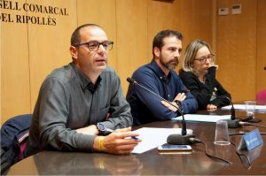 Enric Pérez, Joaquim Colomer i Mònica Santjaume.