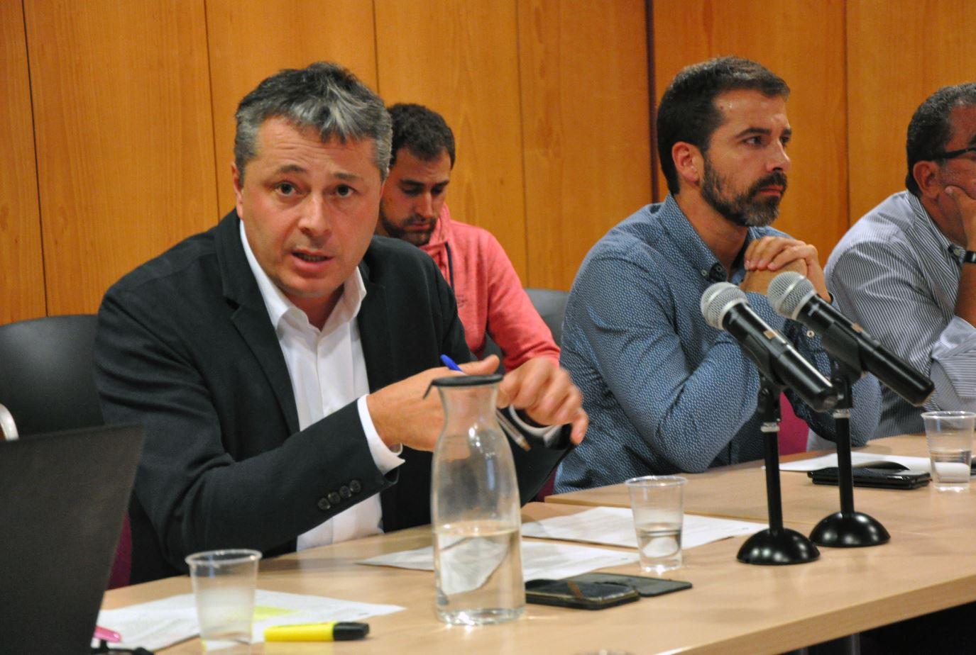 Ramon Roqué, president del Consell d'alcaldes i alcaldesses del Ripollès octubre 2019
