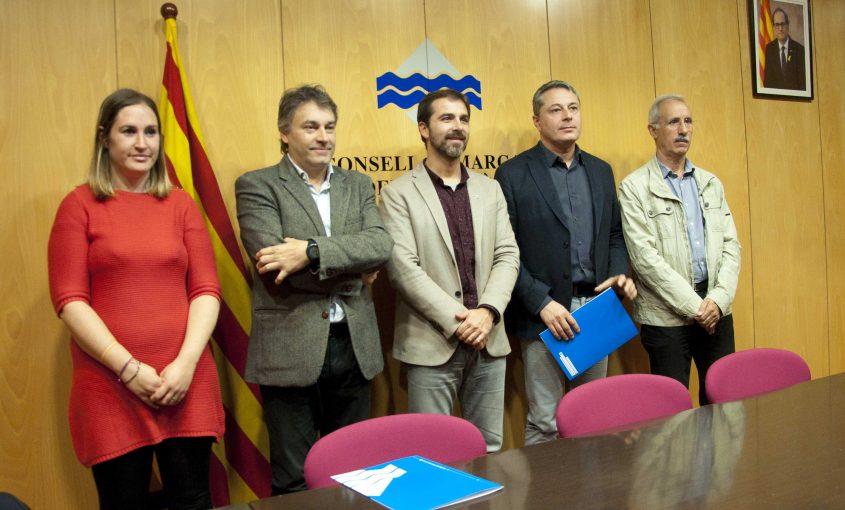 Joaquim Colomer, Jordi Munell, Sílvia Latorre, Cosme Damià, Ramon Roqué