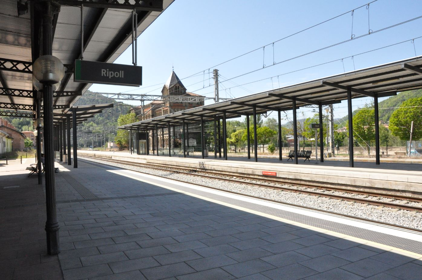 estació rodalies Ripoll