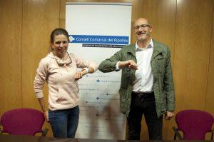 Josep Estragués i Clàudia Tremps