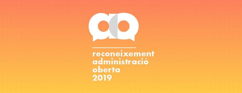 Reconeixements administració oberta 2019